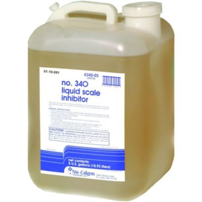 Nu-Calgon 4340-05 - No. 340 Liquid Scale Inhibitor (5 gallon)