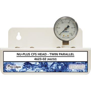 Nu-Calgon 4623-02 - Nu-Plus  CFS Head-Twin