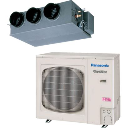 Panasonic® 24,000 BTU 14 SEER Concealed Duct A/C System