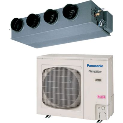 Panasonic® 36PEF1U6 - 31,200 BTU 13.9 SEER Concealed Duct Mini Split Air Conditioner Heat Pump 208-230V