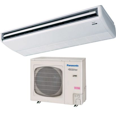Panasonic® 36PET1U6 - 39,000 BTU 15.1 SEER Ceiling Suspended Ductless Mini Split Air Conditioner Heat Pump 208-230V