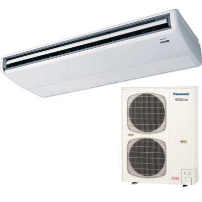 Panasonic® 42PET1U6 - 42,000 BTU 15.6 SEER Ceiling Suspended Ductless Mini Split Air Conditioner with Heat Pump 220V