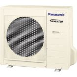 Panasonic® CU2E18NBU200 - 18,000 BTU Dual-Zone Wall Mount Mini Split Air Conditioner Heat Pump 208-230V (9-9)