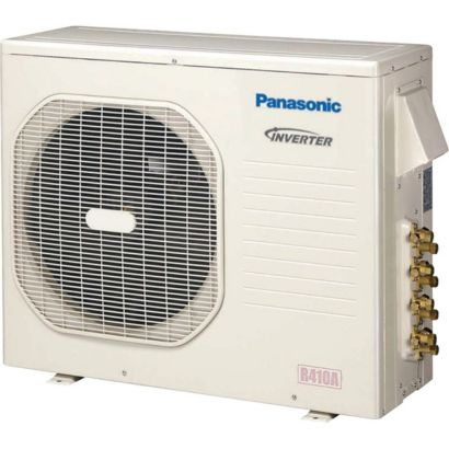 Panasonic CU-4KE24NBU - 23,200 BTU 18 SEER Ductless Mini Split Heat Pump Outdoor Unit 208-230V