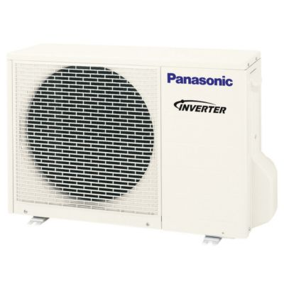 Panasonic® CU-E12RKUA -  12,000 BTU 18 SEER EXTERIOS E  Ductless Mini Split Heat Pump Outdoor Unit 208-230V