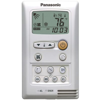 Panasonic® CZ-RD515U - Wired Remote Controller for 30,000 and 36,000 BTU/h Wall Mounted