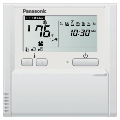 Panasonic® CZ-RTC4 - Standard Wired Timer Remote Controller with Optional ECONAVI function