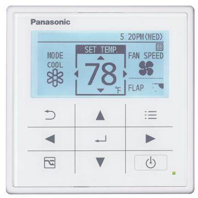 Panasonic® CZ-RTC5 - High Spec Wired Remote Controller with Optional ECONAVI function