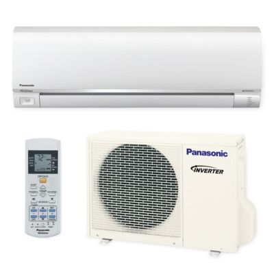 Panasonic® E12RKUA - 12,000 BTU 22.5 SEER EXTERIOS E Wall Mount Ductless Mini Split Air Conditioner Heat Pump 208-230V