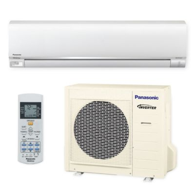 Panasonic® E18RKUA - 18,000 BTU 19.5 SEER EXTERIOS E Wall Mount Ductless Mini Split Air Conditioner Heat Pump 208-230V