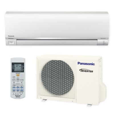 Panasonic® E9RKUA - 9,000 BTU 23 SEER EXTERIOS E Wall Mount Ductless Mini Split Air Conditioner Heat Pump 208-230V