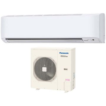 Panasonic KE36NKU - 34,000 BTU 16 SEER Wall Mounted Ductless Mini Split Air Conditioner with Heat Pump 220V