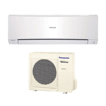 Panasonic S12NKUA - 12,000 BTU 20 SEER Wall Mounted Ductless Mini Split Air Conditioner with Heat Pump 220V