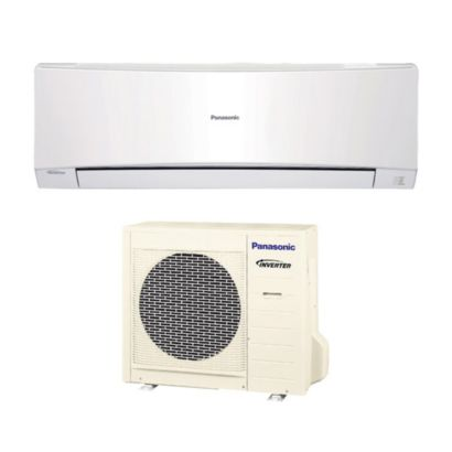 Panasonic® S24NKUA - 24,000 BTU 17.5 SEER Wall Mount Ductless Mini Split Air Conditioner Heat Pump 208-230V