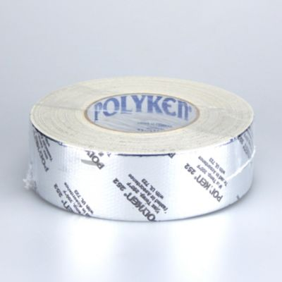 Polyken 1086482 - Professional Grade Metallized Duct Tape - Printed 48mm x 55m