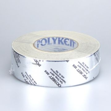 Polyken 1086483 - Professional Grade Metallized Duct Tape - Printed 72mm x 55m