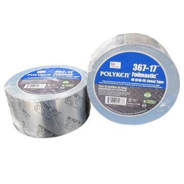 "Polyken 1086863 - Foilmastic UL181B-FX Listed Sealant Tape 3"" x 100'"