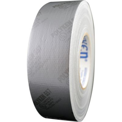 Polyken 1086939 - Silver Premium Duct Tape-UL181B-FX Listed