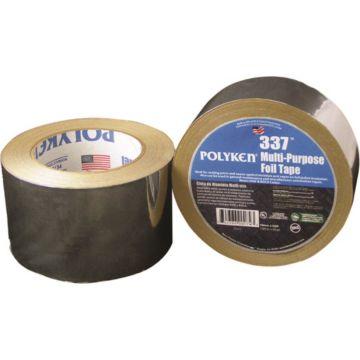"Polyken 1087632 - Multi-Purpose Plain Aluminum Foil Tape 2.5"" x 50 yd"