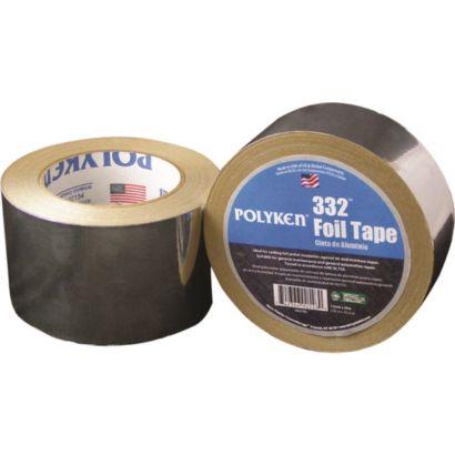 Polyken 1087638 - Utility Grade Aluminum Foil Tape 48mm x 46m