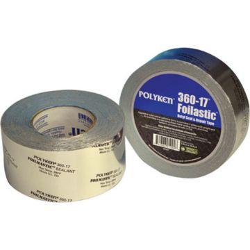 Polyken 1087779 - Utility Grade Aluminum Foil Tape 72mm x 46m