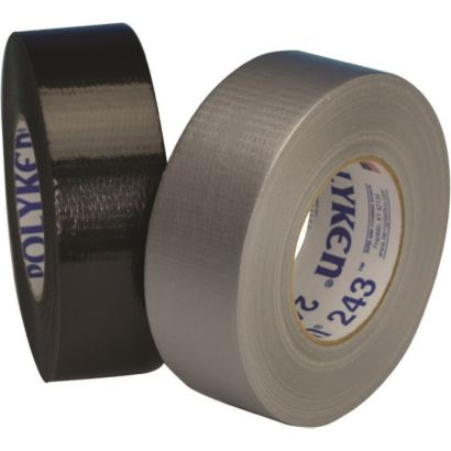 Polyken 622262 - 243 Black Multi-Purpose Grade Duct Tape