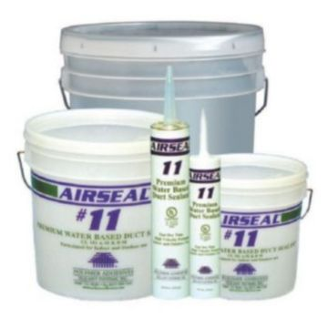 Polymer Adhesives AS11-1(G) - Airseal #11-1 Grey, Premium Water Based Duct Sealant