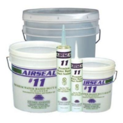Polymer Adhesives AS11-T(G) - Airseal #11-T Grey, Premium Water Based Duct Sealant