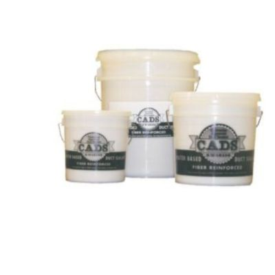 Polymer Adhesives CADS-1(W) - White, Fiber Reinforced Water Based Duct Sealant