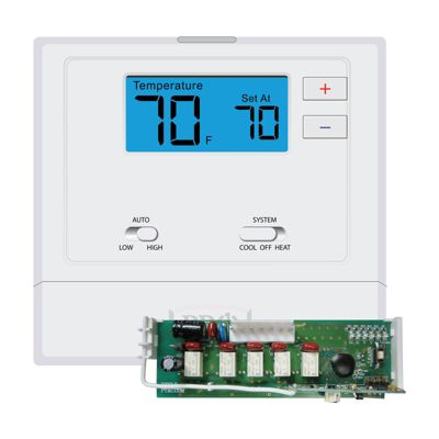 Pro1 T631W-2 - T600 Platform: Wireless PTAC Thermostat, Non-Programmable, 1H/1C Conventional and 2H/1C Heat Pump
