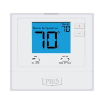 "Pro1 T701 - Platform: Non-Programmable, 1H/1C with 4 Sq."" Display"