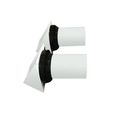 "PROTECH 89-16071-00 - ERV/HRV Metal Vent Hood Kit for 6"" Flex Duct"