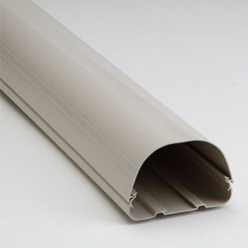 """RectorSeal® 84124 - Fortress LD122I 122mm 4.5"""" Duct 8' Length Ivory"""