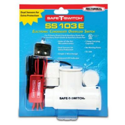 RectorSeal® 97692 - Safe-T-Switch SS103E Electronic Condensate shutoff switches with LED indicator