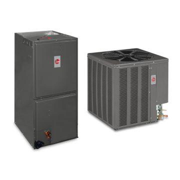 Rheem SYSRHE1628 - 48,000 BTU 14 SEER Value Series Air Conditioner Split System - Multi-Position