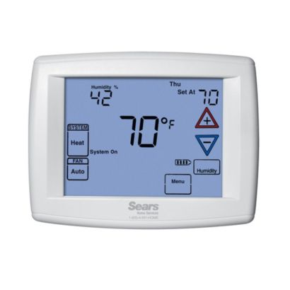 Sears 1F95-1291SE - Sears Branded Big Blue Humidity Universal Thermostat