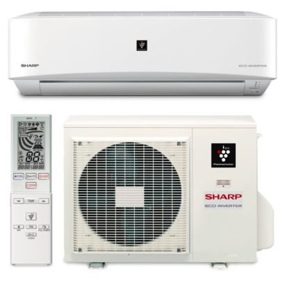 Sharp A-X24PU - 24,000 BTU 18 SEER Wall Mount Ductless Mini Split Air Conditioner Heat Pump 208-230V