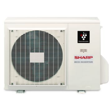 Sharp AE-X24PU - 24,000 BTU 18 SEER Ductless Mini Split Heat Pump Outdoor Unit 208-230V