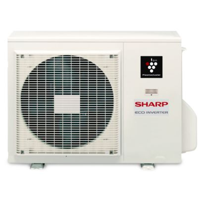 Sharp AE-X24PU - 24,000 BTU 18 SEER Ductless Mini Split Heat Pump Outdoor Unit 208-230V