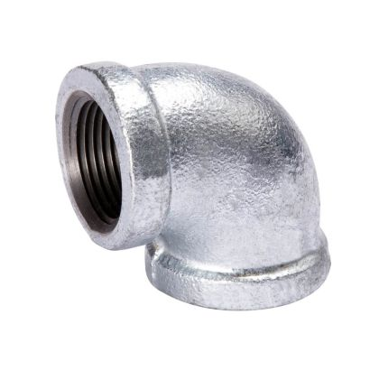 """Southland 510-004 - 3/4"""" 90° Elbow Galvanized 150Lb. Malleable Iron Fitting"""