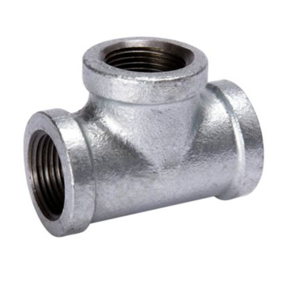 """Southland 510-604 - 3/4"""" Tee Galvanized 150Lb. Malleable Iron Fitting"""