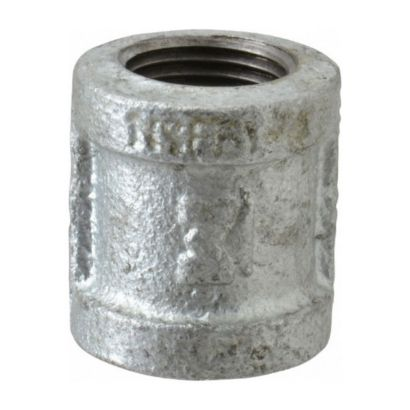 """Southland 511-203 - 1/2"""" Coupling Galvanized 150Lb. Malleable Iron Fitting"""