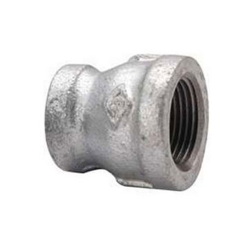 "Southland 511-343 - 3/4"" x 1/2"" Reducing Coupling Galvanized 150Lb. Malleable Iron Fitting"