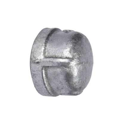 """Southland 511-403 - 1/2"""" Cap Galvanized 150Lb. Malleable Iron Fitting"""