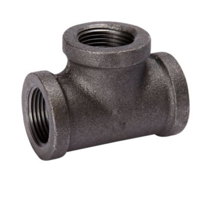 "Southland 520-605 - 1"" Tee Black 150Lb. Malleable Iron Fitting"