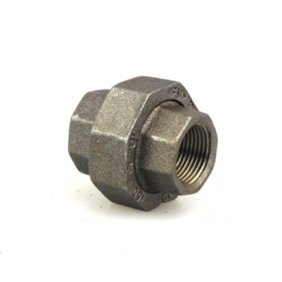 """Southland 521-704 - 3/4"""" Union Black 150Lb. Malleable Iron Fitting"""