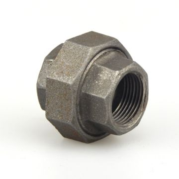 """Southland 521-705 - 1"""" Union Black 150Lb. Malleable Iron Fitting"""