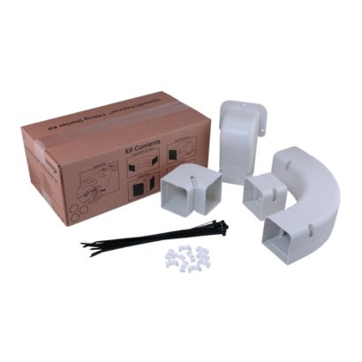 "SpeediChannel 230-IK4 - 4"" Fitting Kit for Line Set Cover System"
