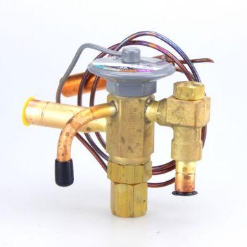 """Sporlan 108625 - TXV SBFSE-B-Z 1-1/4 thru 2, R-404A Low Temp Refrig 30"""" 3/8"""" x 1/2"""" x 1/4"""" ODF Angle"""