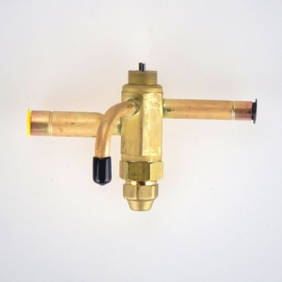 "Sporlan 168150 - Thermostatic Expansion Valve EQE BODY 3/8"" x 1/2"" x 1/4"" ODF External Equalizer"